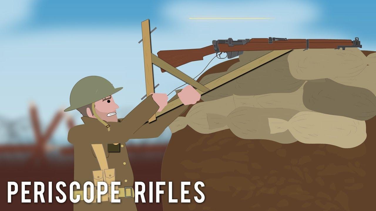Periscope Rifles (Weird Tech)