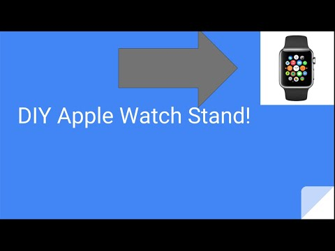 DIY FREE APPLE WATCH STAND