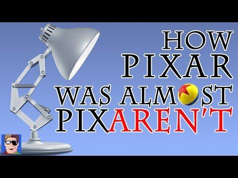 How Pixar Was Almost Pixaren't!
