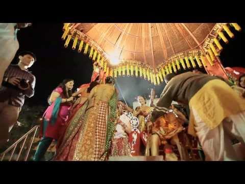 A truly India Wedding Video - Gujarati Wedding in Baroda   INDIA   Kanav Sood & Disha