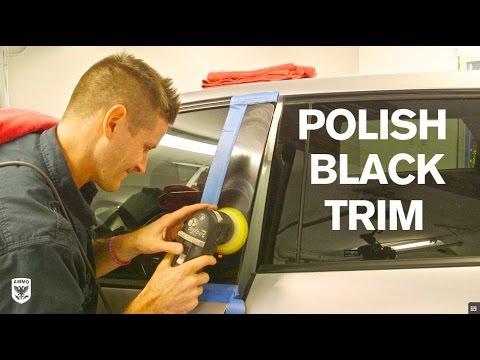 How to Polish Black Trim: Ford Edge