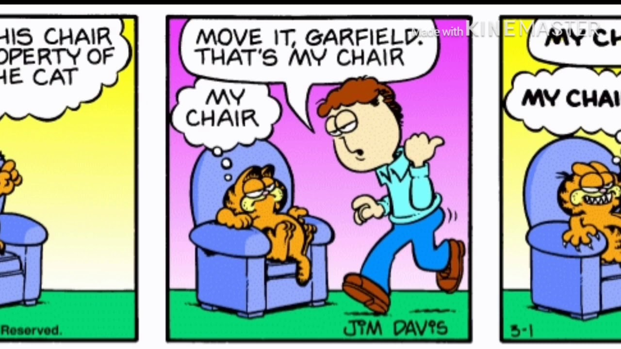 Garfield Comic My Voice Youtube