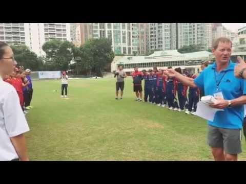 Nepali Women Cricket Team in Hong Kong