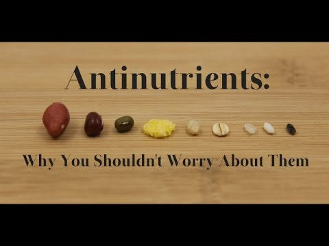 The Surprising All Natural AntiNutrients and Toxins in Plant