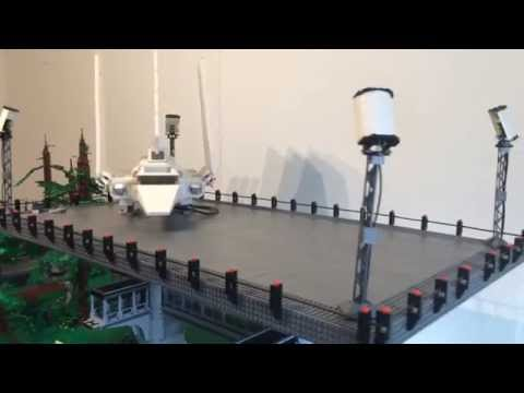Lego star wars endor with imperial shuttle landing