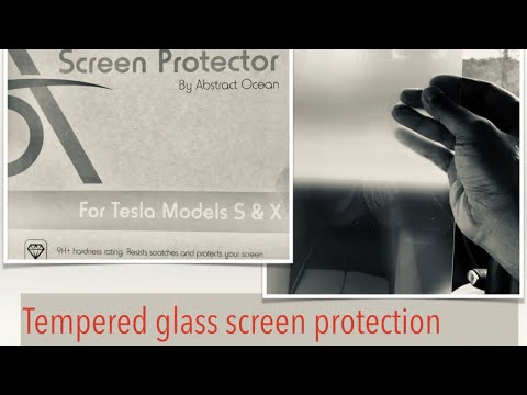How to : Clean and Tempered Glass Protect your screen - Abstract Ocean Screen Protector
