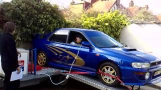 Subaru rolling road fail