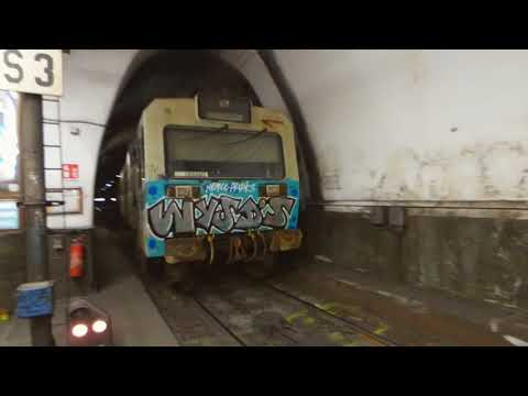 Rome's creepy railway (underground section)