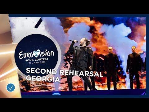 Georgia 🇬🇪 - Oto Nemsadze - Keep On Going - Exclusive Rehearsal Clip - Eurovision 2019