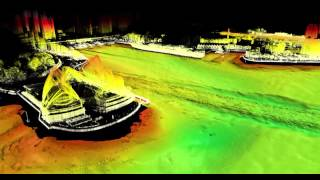 A combined laser and bathymetric survey, Sydney 2014