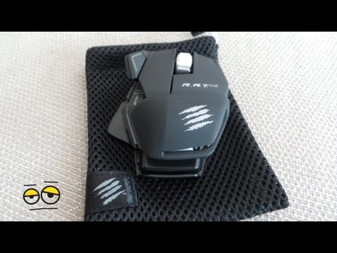 Mad Catz RA.T.M Portable Gaming Mouse Review