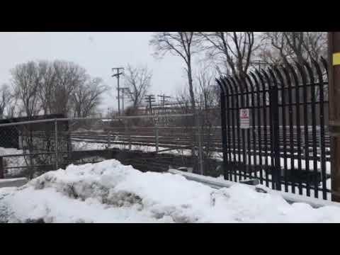 Amtrak 234 leaves Albany-Rensselaer, NY