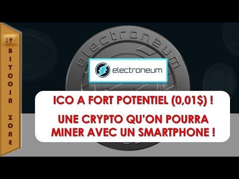 Electroneum - ICO A Fort Potentiel (0.01$) ! Miner Cette Crypto Avec Un Smartphone !