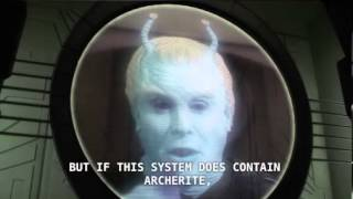 Star Trek Enterprise - The Andorian Mining Consortium runs from no one