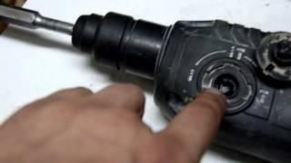 Как поставить переключатель режимов на перфоратор 2-24 Bosch(Покажу как снять и поставить переключатель режимов на 2-24 Бош., 2014-09-25T01:32:21.000Z)