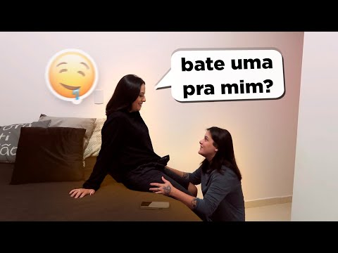 TROLLEI MINHA NAMORADA ''BATE UMA PRA MIM''