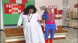 El Especial del Humor Eva Ayllon es maltratada en el Peru vs Chile 30/03/13