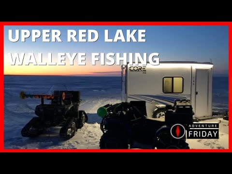 An Upper Red Lake Experience Searching For Walleyes