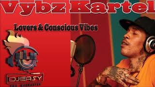 Download Vybz Kartel Best of Conscious & Lovers Mixtape Mix by djeasy MP3 song and Music Video
