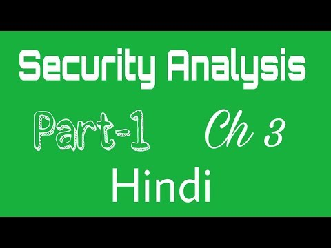 Security Analysis - Part 3 (Hindi)