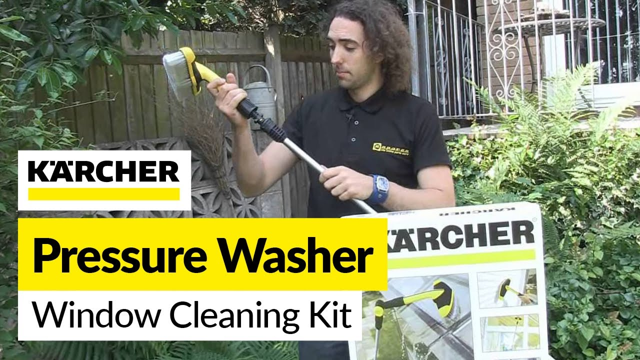 Karcher Window Cleaning Kit Youtube