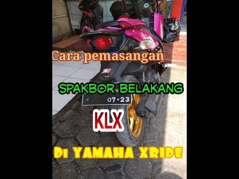 Proses Pemasangan Spakbor KLX PNP XRIDE