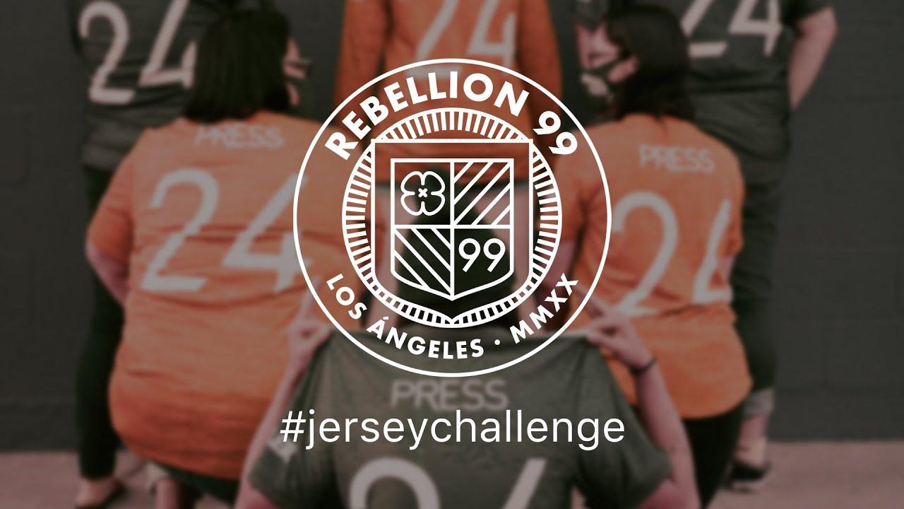 Rebellion 99 #JerseyChallenge