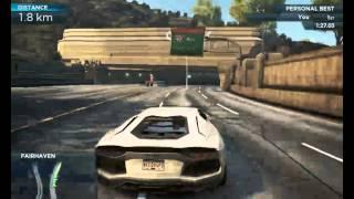 Need for Speed Most Wanted (2012) Lamborghini Aventador by Antonio Rodrigo