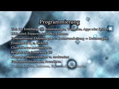 Tutorial: Einführung in die Programmierung - Grundlagen - Anfänger [HD] [German]
