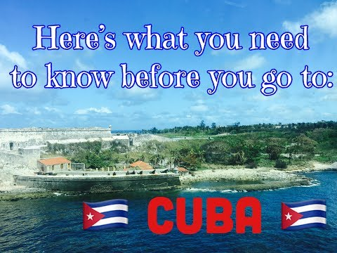 Going to Cuba? Here's some tips and tricks!