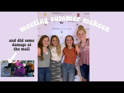 WE MET SUMMER MCKEEN! thumbnail