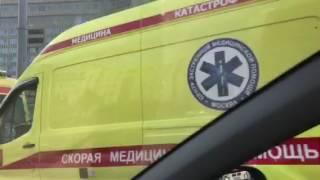 حريق يلتهم أحد المباني بشارع أربات وسط موسكو