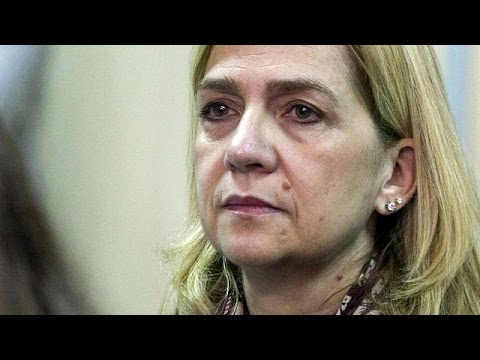 Spain's Princess Cristina acquitted, her husband jailed for fraud