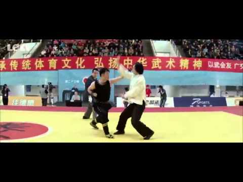 Wushu:TaiChi manTiger Chen VS Nanquan fighter