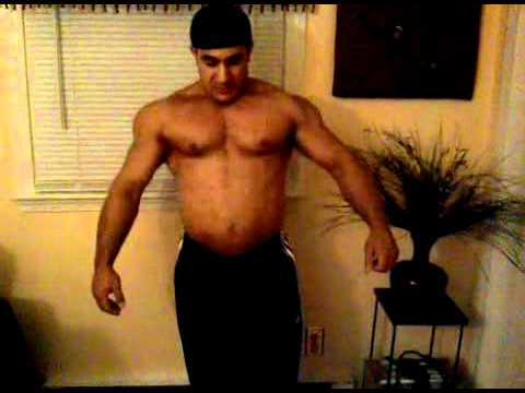 Fadi Poses Off Season Before Jay Cutler Classic 2010 - YouTube