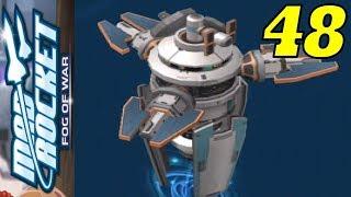 Mad Rocket: Fog of War - Gameplay Walkthrough #48 - MOTHERSHIP (iOS, Android)