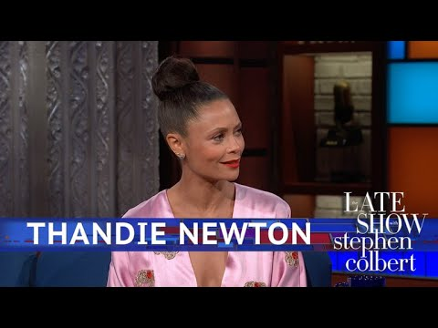 Thandie Newton's Dress Honoring Black 'Star Wars' Characters Has A Backstory