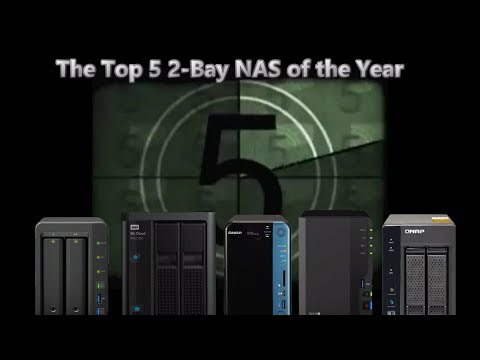 The Top 5 2-Bay NAS of 2017