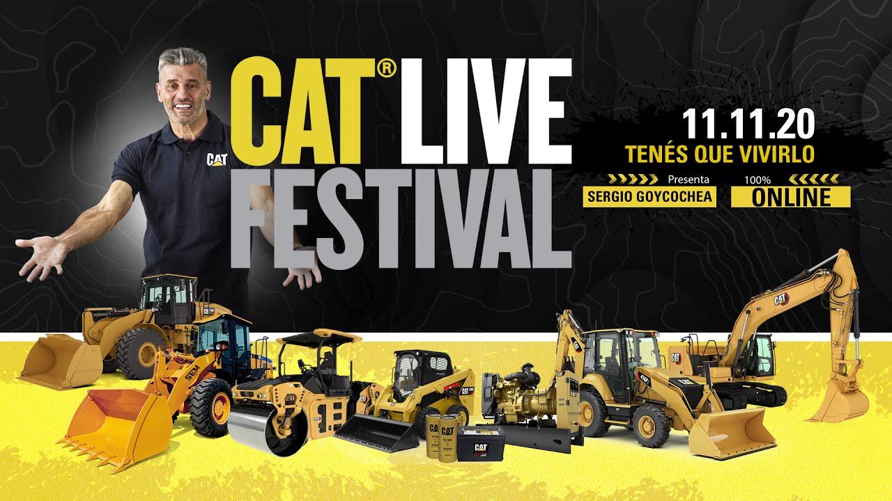 MAÑANA OFERTAS INCREÍBLES - CAT Live Festival: Argentina - 11 de Noviembre 2020 de 10:00 a 13:00 hs