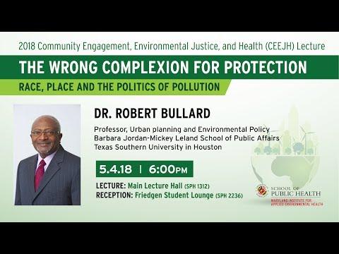 "Steve Bullard ""Ash"" >> Community Engagement Environmental Justice And Health"