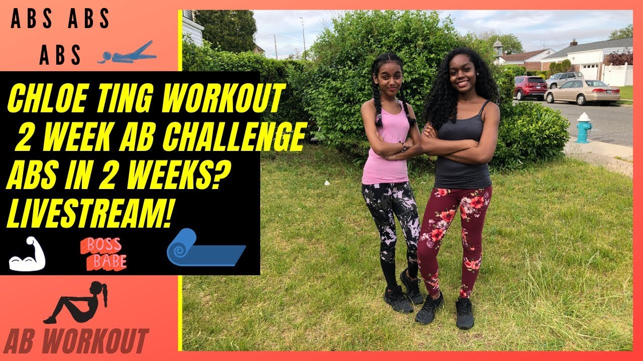 Get Abs in 2 WEEKS? | Chloe Ting Challenge | LIVE Abs ...