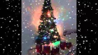 Wine Glass Snow Carols - We Wish You A Merry Christmas - Howard J Foster