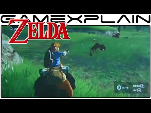 Zelda Wii U Gameplay - Full-Screen Zoom Version (Game Awards Footage)