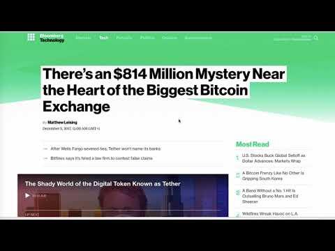 Bitcoin a 15000$. Tether e gli 815Milioni fantasma (e Bitfinex che c'entra)