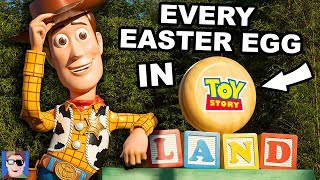 EVERY EASTER EGG IN TOY STORY LAND