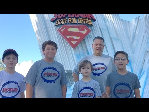 Six Flags Magic Mountain Nov 2016 - Day 1
