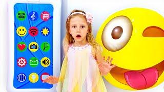 ناستيا والهاتف السحري, ألعاب الخفة للأطفال