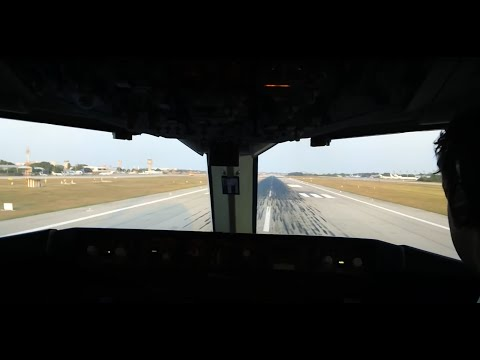 Boeing 767-300 Take Off Fortaleza Brasil 1080p