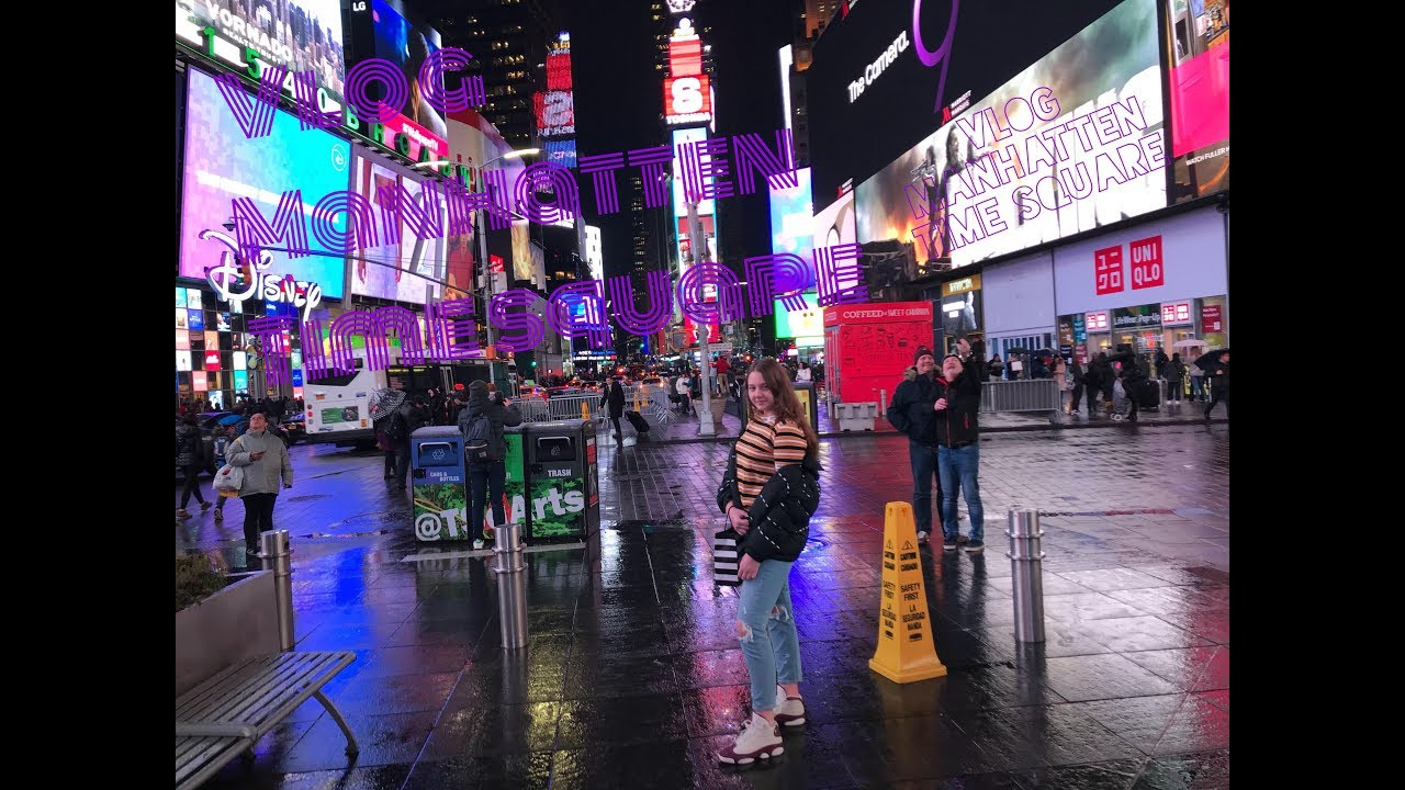 VLOG: Manhattan/Time Square/ვლოგი მანჰეტენიდან