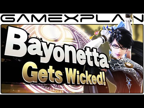 Bayonetta Smash Bros Wii U & 3DS! Final Announcement Trailer (High Quality)